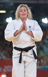 Gemma Gibbons who won a Silver medal in the Women's Judo  at the London 2012 Olympics , Thursday 2nd August 2012  Photo by: i-Images