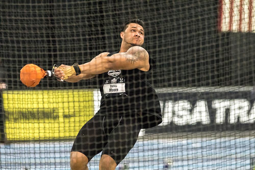 USATF Indoor Track & Field Championships: mens weight throw, Darien Moore