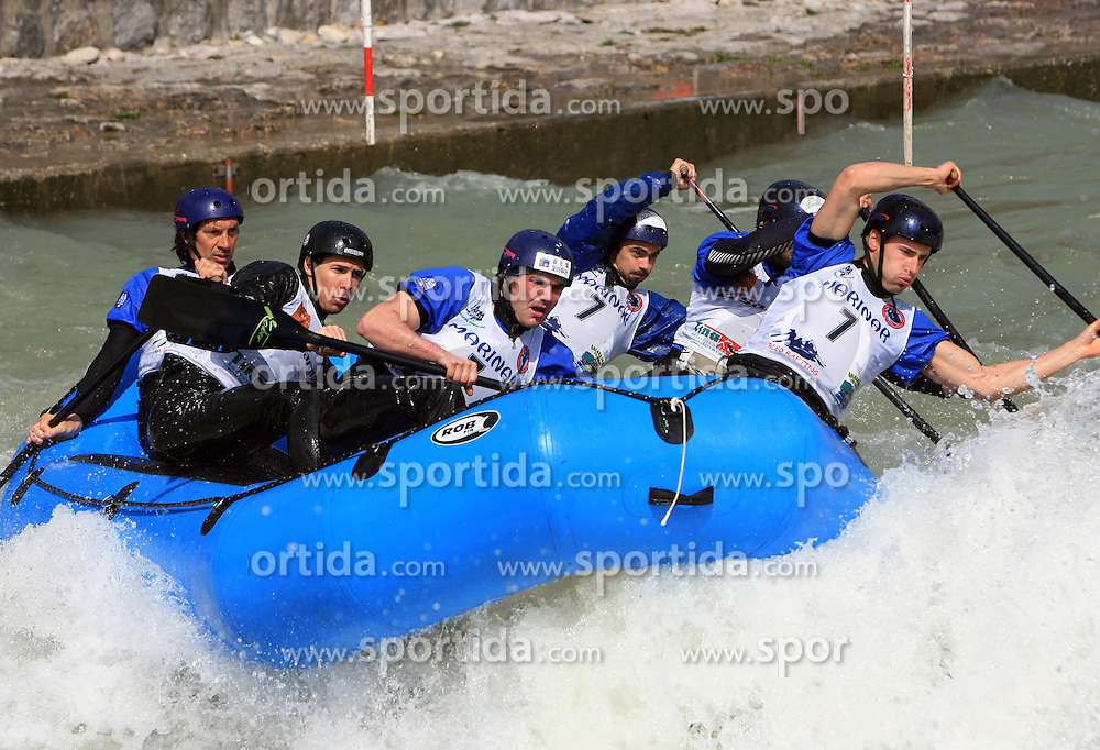 Team Italy at Euro Cup 2009 R6 Rafting in TT & H2H and Slovenian National Championship 2009, on April 4, 2009, in Tacen, Ljubljana, Slovenia. (Photo by Vid Ponikvar / Sportida)