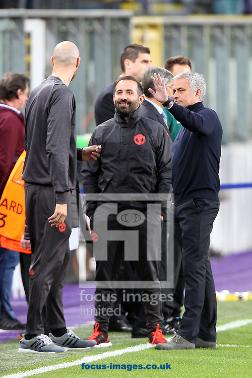 Manchester United Manager Jose Mourinho before the UEFA Europa League match at Constant Vanden Stock Stadium, Anderlecht<br /> Picture by Paul Chesterton/Focus Images Ltd +44 7904 640267<br /> 13/04/2017