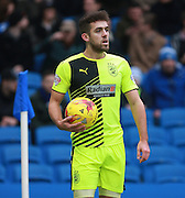Huddersfield Town defender Tommy Smith during the Sky Bet Championship match between Brighton and Hove Albion and Huddersfield Town at the American Express Community Stadium, Brighton and Hove, England on 23 January 2016. Photo by Bennett Dean.