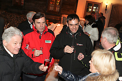 08.02.2013, Landalm, Rohrmoos-Untertal, AUT, FIS Weltmeisterschaften Ski Alpin, Empfang durch Landeshauptmann Franz Voves, Steiermark, im Bild Josef Pühringer, Landeshauptmann von Oberoesterreich, Franz Voves, Landeshauptmann der Steiermark, Markus Wallner, Landeshauptmann von Vorarlberg, Hermann Schuetzenhoefer, Landeshauptmann-Stellvertreter der Steiermark und Ingrid Voves // Josef Pühringer, governor of Upper Austria, Franz Voves, governor of Styria, Markus Wallner, governor of Vorarlberg, Hermann Schuetzenhoefer, vice governor of Styria and Ingrid Voves at a receiving from governor Franz Voves, Styria, during FIS Ski World Championships 2013 at the Landalm, Rohrmoos-Untertal, Austria on 2013/02/08. EXPA Pictures © 2013, PhotoCredit: EXPA/ Martin Huber