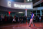 Content Magazine host their 7th Anniversary Pick Up Party at the San Jose City Hall Rotunda in San Jose, California, on December 12, 2018. (Stan Olszewski/SOSKIphoto)