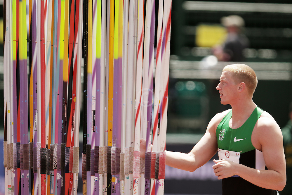 Olympic Trials Eugene 2012: Hostetler selects new javelin