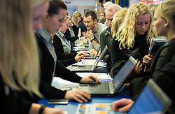DK caption:<br /> Herning, Danmark, 20140222:<br /> MCH Messe, Ferie for alle.   Bravo Tours<br /> Foto: Lars Møller<br /> UK Caption:<br /> Herning, Denmark, 20140222:<br /> MCH Fair, Ferie for alle.   Bravo Tours<br /> Photo: Lars Moeller