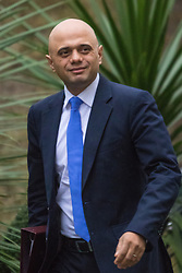 Downing Street, London, February 2nd 2016. Secretary of State for Business, Innovation and Skills Sajid Javid arrives at No 10 ahead of attending the weekly Cabinet meeting. ///FOR LICENCING CONTACT: paul@pauldaveycreative.co.uk TEL:+44 (0) 7966 016 296 or +44 (0) 20 8969 6875. ©2015 Paul R Davey. All rights reserved.