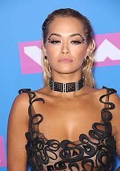 August 21, 2018 - New York City, New York, USA - Rita Ora at the 2018 MTV Video Music Awards at Radio City Music Hall in New York City. (Credit Image: © Starmax/Newscom via ZUMA Press)