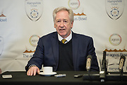 Hampshire County Cricket Club's Chairman Rod Bransgrove during the new signing press conference for Hampshire County Cricket Club at the Ageas Bowl, Southampton, United Kingdom on 23 February 2018. Picture by Dave Vokes.