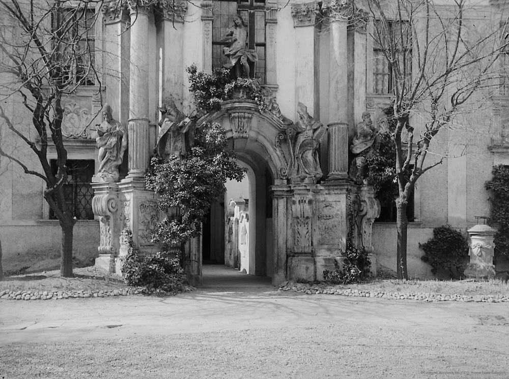 Ornate Entryway, Wachau, Austria, 1925