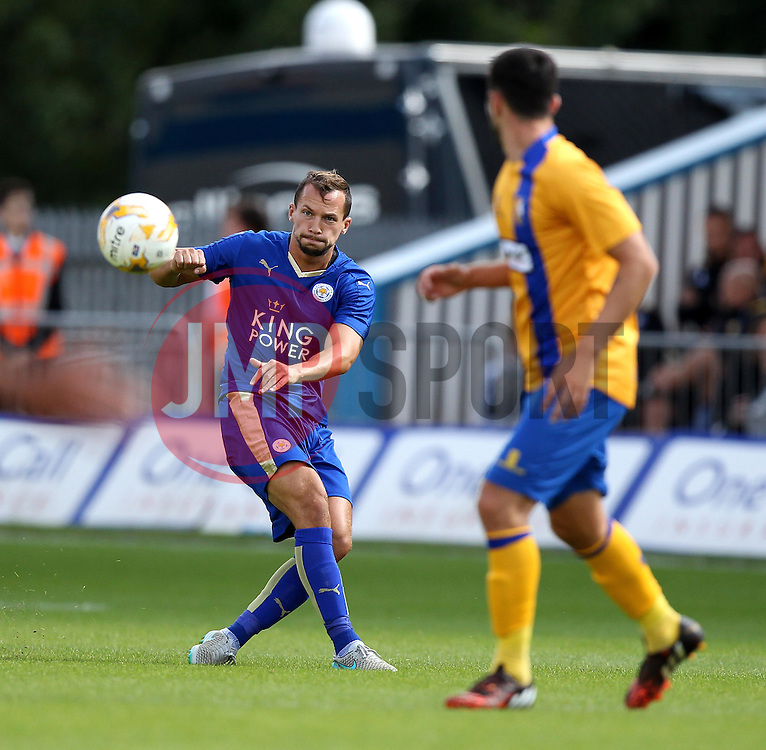 Leicester City's Danny Drinkwater sprays a pass - Mandatory by-line: Robbie Stephenson/JMP - 25/07/2015 - SPORT - FOOTBALL - Mansfield,England - Field Mill - Mansfield Town v Leicester City - Pre-Season Friendly