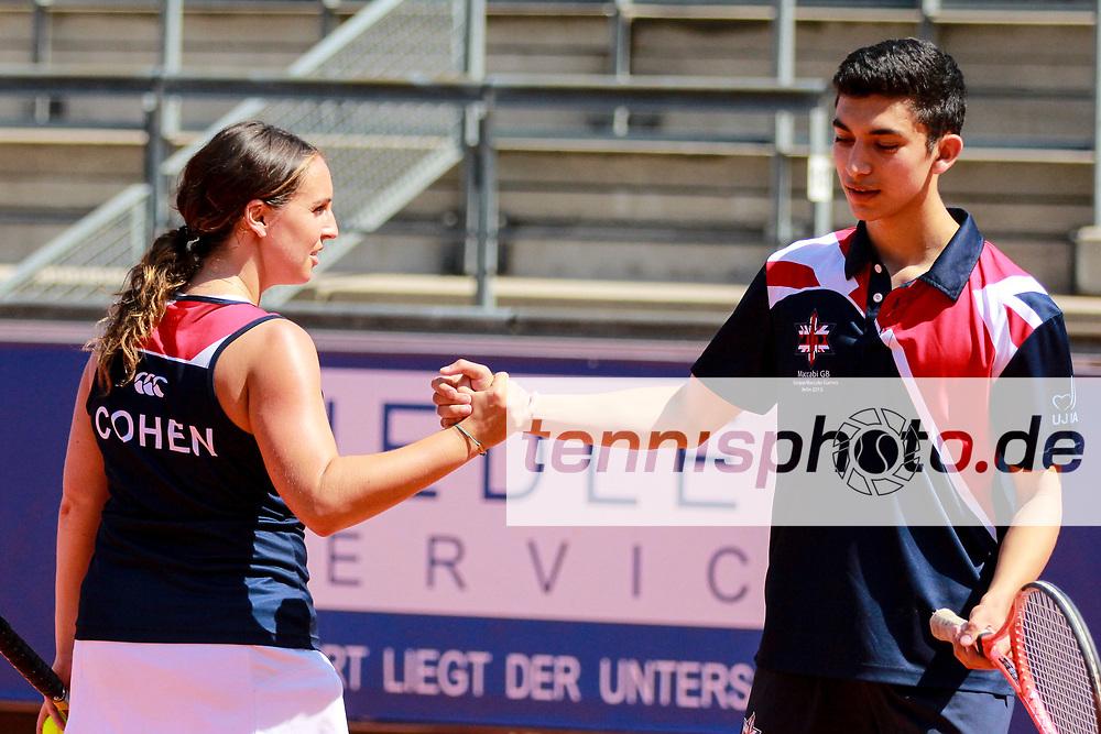 "European Maccabi Games, LTTC ""Rot-Weiß"", Berlin, 02.08.2015, Foto: Claudio Gaertner"