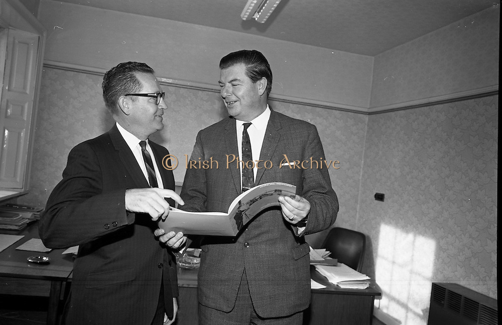 6/11/1967<br /> 11/6/1967<br /> 6 November 1967<br /> <br /> Photo of Mr. Dick Grogan at the Institute for Industrial Research