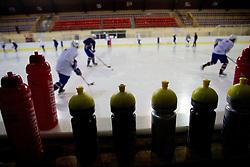 Athletes during Practice session of Slovenian U20 ice-hockey team, on December 08, 2011 in Ledena dvorana, Bled, Slovenia. (Photo By Vid Ponikvar / Sportida.com)