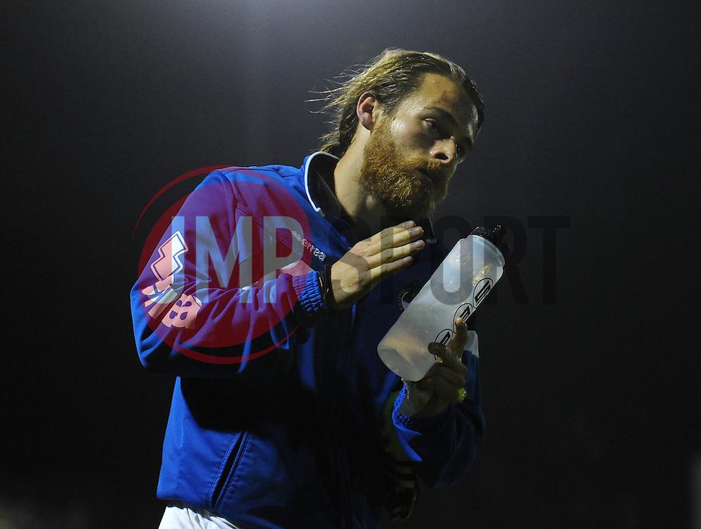 Stuart Sinclair of Bristol Rovers - Mandatory byline: Dougie Allward/JMP - 07966 386802 - 06/10/2015 - FOOTBALL - Memorial Stadium - Bristol, England - Bristol Rovers v Wycombe Wanderers - JPT Trophy