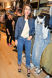 LAURA JACKSON at a party to relaunch the Bershka store at 221-223 Oxford Street, London on 17th March 2016.
