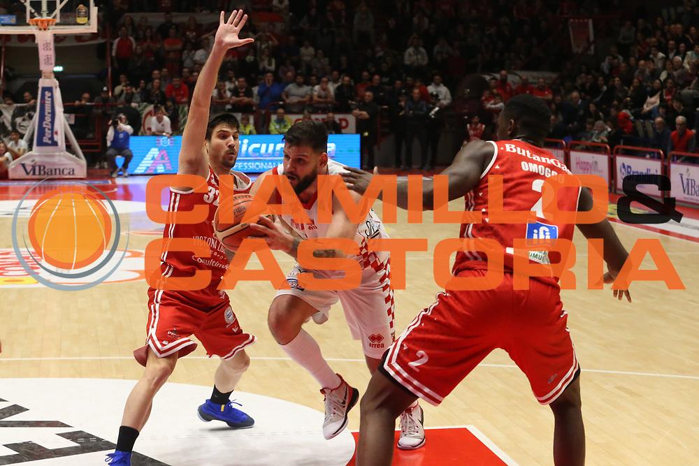 Ivanov Deyan<br /> The Flexx Pistoia - VL Pesaro<br /> Lega Basket Serie A 2017/2018<br /> Pistoia, 09/12/2017<br /> Foto Ciamillo - Castoria