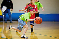 Rheana's basketball game Saturday, Dec. 3, 2011 at Woodland Middle School. Everybody got hurt in this game.