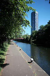 UK ENGLAND LEICESTER 30JUN15 - The river Soar at Leicester city.<br /> <br /> jre/Photo by Jiri Rezac / WWF UK<br /> <br /> © Jiri Rezac 2015