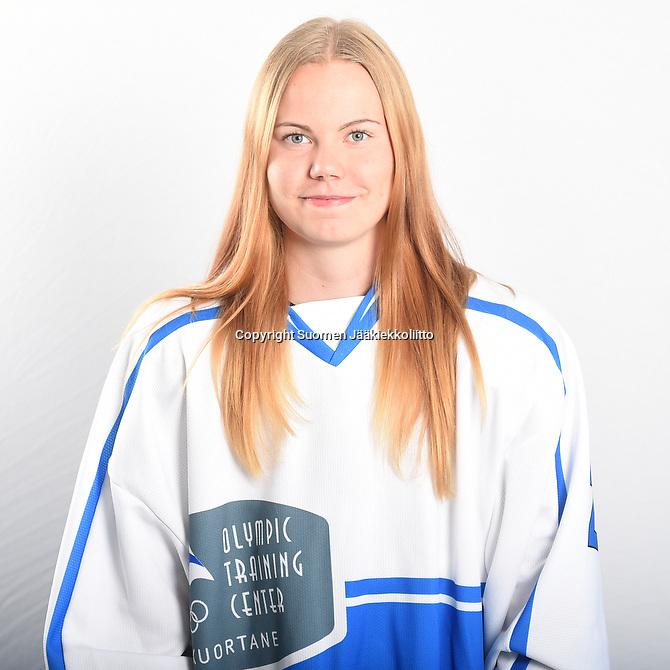 Team Kuortaneen kauden 2016-17 joukkue kuvattiin Kuortaneen jäähallissa torstaina 11.8.2016.