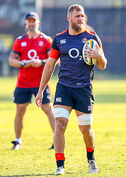 Brad Shields (Hurricanes/ Wasps) - Mandatory by-line: Steve Haag/JMP - 13/06/2018 - RUGBY - Kings Park Stadium - Durban, South Africa - England Rugby Training and Press Conference, South Africa Tour