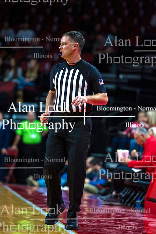 NORMAL, IL - October 23:  Gene Grimshaw during a college basketball game between the ISU Redbirds and the Truman State Bulldogs on October 23 2019 at Redbird Arena in Normal, IL. (Photo by Alan Look)