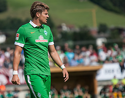 27.07.2014, Sportplatz, Fügen, AUT, FS Vorbereitung, Testspiel, SV Werder Bremen vs Atletico Bilbao, im Bild Sebastian Proedl (Werder Bremen) // during a friendly Match between SV Werder Bremen and Atletico Bilbao at the football stadium in Fügen, Austria on 2014/07/27. EXPA Pictures © 2014, PhotoCredit: EXPA/ Jakob Gruber
