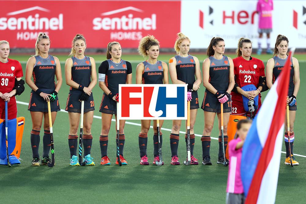 New Zealand, Auckland - 23/11/17  <br /> Sentinel Homes Women&rsquo;s Hockey World League Final<br /> Harbour Hockey Stadium<br /> Copyrigth: Worldsportpics, Rodrigo Jaramillo<br /> Match ID: 10306 - NED vs CHN<br /> Photo: