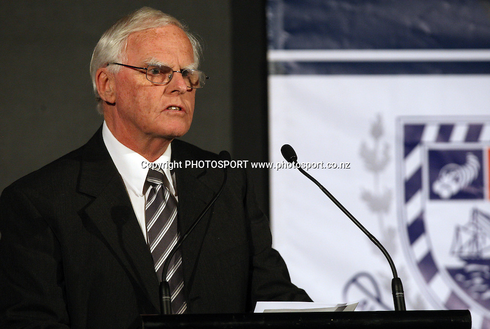 ACA President John Sparling, Auckland cricket association Awards Dinner, ASB Lounge, Eden Park, Auckland. 14 April 2010. Photo: William Booth/PHOTOSPORT