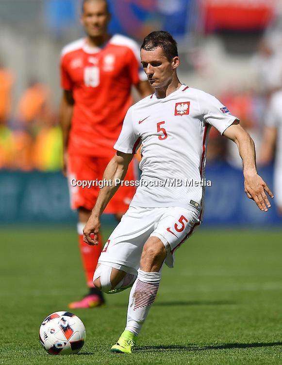 2016.06.25 Saint-Etienne<br /> Pilka nozna Euro 2016<br /> mecz 1/8 finalu Szwajcaria - Polska<br /> N/z Krzysztof Maczynski<br /> Foto Lukasz Laskowski / PressFocus<br /> <br /> 2016.06.25<br /> Football UEFA Euro 2016 <br /> Round of 16 game between Switzerland and Poland<br /> Krzysztof Maczynski<br /> Credit: Lukasz Laskowski / PressFocus