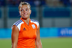 27-08-2004 GRE: Olympic Games day 14, Athens<br /> Hockey finale vrouwen Nederland - Duitsland 1-2 / Ageeth Boomgaardt