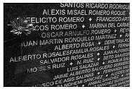 Monumento a las víctimas de Violación de los Derechos Humanos, Parque Cuscatlán, San Salvador 01 Noviembre 2008. Edgar romero.