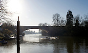 Maidenhead, Great Britain,  Maidenhead Rowing club Sunday Morning training on the River Thames, England, Thursday, 01/01/1970. [Mandatory Credit: © Peter Spurrier/Intersport Images].
