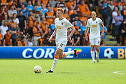 Hull's Sam Clucas during the Sky Bet Championship match between Wolverhampton Wanderers and Hull City at Molineux, Wolverhampton, England on 16 August 2015. Photo by Shane Healey.