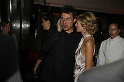 Rufus Sewell and Rosamund Pike, Royal Court Theatre 50th Anniversary Gala sponsored by Vanity Fair. Titanic. Brewer St. London. 26 April 2006. ONE TIME USE ONLY - DO NOT ARCHIVE  © Copyright Photograph by Dafydd Jones 66 Stockwell Park Rd. London SW9 0DA Tel 020 7733 0108 www.dafjones.com