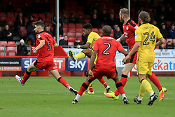 Ellis Harrison of Bristol Rovers shot goes wide - Mandatory by-line: Jason Brown/JMP - 05/11/2016 - FOOTBALL - Checkatrade.com Stadium - Crawley, England - Crawley Town v Bristol Rovers - Emirates FA Cup first round