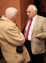 Richard Wilson and Roy Hudd  at the Oldie of the Year Awards in London, Tuesday, 4th February 2014. Picture by Stephen Lock / i-Images