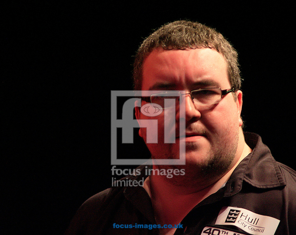 Picture by Richard Gould/Focus Images Ltd +44 7855 403186<br /> 13/10/2013<br /> Finalist Stephen Bunting pictured during day four of the BDO Winmau World Masters Darts Championship at Hull City Hall, Hull.