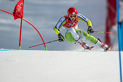 18-02-2018 KOR: Olympic Games day 9, Pyeongchang<br /> Alpine Skiing Men's Giant Slalom at Yongpyong Alpine Centre / Zan Kranjec of Slovenia