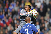 FOOTBALL - FRIENDLY GAME 2010 - FRANCE v COSTA RICA - 26/05/2010 - PHOTO PHILIPPE MILLEREAU / DPPI - STEVE MANDANDA (FRA)