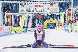20.01.2019, Loipe Obertilliach, AUT, 45. Dolomitenlauf, Freestyle, im Bild 3. Platz Anna Seebacher (AUT, 42km) // during the 45th Dolomitenlauf Freestyle race at Obertilliach, Austria on 2019/01/20, EXPA Pictures © 2019 PhotoCredit: EXPA/ Dominik Angerer
