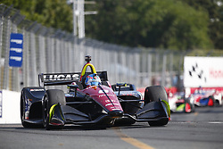 July 15, 2018 - Toronto, Ontario, Canada - ROBERT WICKENS (6) of Canada battles for position during the Honda Indy Toronto at Streets of Toronto in Toronto, Ontario. (Credit Image: © Justin R. Noe Asp Inc/ASP via ZUMA Wire)