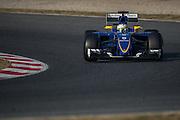 February 19-22, 2015: Formula 1 Pre-season testing Barcelona : Marcus Ericsson, Sauber Ferrari