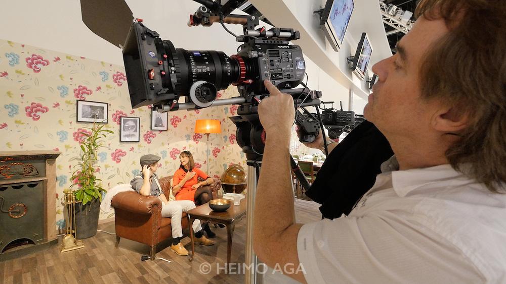 Photokina in Cologne ist the World's biggest bi-annual photo fair. Sony PXW-FS7 4K camera.