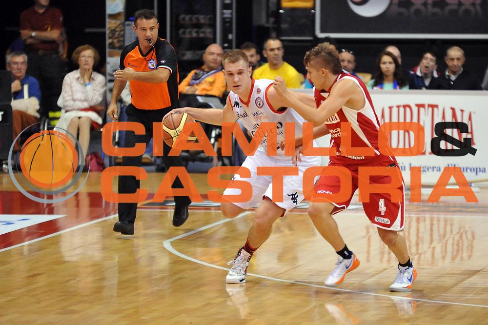 DESCRIZIONE : Biella Lega A 2012-13 Angelico Biella Scavolini Banca Marche Pesaro<br /> GIOCATORE : Nemanja Jaramaz<br /> CATEGORIA : Palleggio<br /> SQUADRA : Angelico Biella <br /> EVENTO : Campionato Lega A 2012-2013 <br /> GARA : Angelico Biella Scavolini Banca Marche Pesaro<br /> DATA : 06/10/2012<br /> SPORT : Pallacanestro <br /> AUTORE : Agenzia Ciamillo-Castoria/S.Ceretti<br /> Galleria : Lega Basket A 2012-2013  <br /> Fotonotizia : Biella Lega A 2012-13 Angelico Biella Scavolini Banca Marche Pesaro<br /> Predefinita :