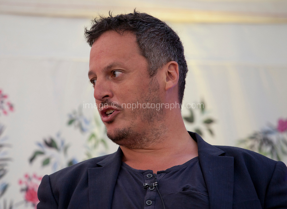 Author Joshua Jelly-Schapiro during the 'New World Order' talk at the Dalkey Book Festival, Dalkey, County Dublin, Ireland, Thursday 15th June 2017. Photo credit: Doreen Kennedy