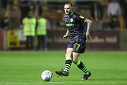 Forest Green Rovers Carl Winchester(7) passes the ball forward during the EFL Sky Bet League 2 match between Carlisle United and Forest Green Rovers at Brunton Park, Carlisle, England on 17 September 2019.