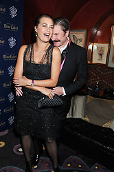 SIMON & YASMIN LE BON at the Johnnie Walker Blue Label and David Gandy partnership launch party held at Annabel's, 44 Berkeley Square, London on 5th February 2013.