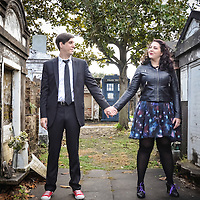 Adam & Lisa | Engagement Samples | Lafayette N. 1 Cemetery, New Orleans, LA | 1216 Studio Wedding Photography