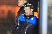 Danny Wilson during the Sky Bet League 1 match between Rochdale and Chesterfield at Spotland, Rochdale, England on 9 January 2016. Photo by Daniel Youngs.