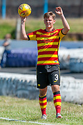 Partick Thistle's James Prentice during the Pre-Season Friendly match between Partick Thistle and Heart of Midlothian at Central Park Stadium, Cowdenbeathl, Scotland on 8 July 2018. Picture by Malcolm Mackenzie.